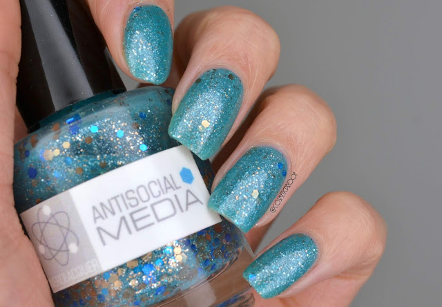 Nerd Lacquer Antisocial Media Swatch