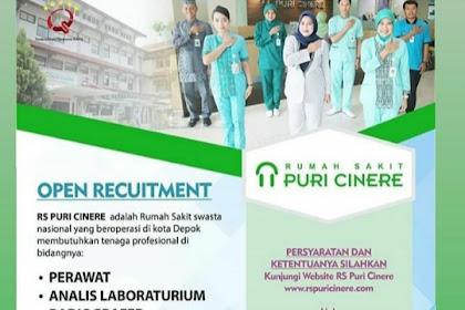 Info Lowongan Kerja Rumah Sakit Puri Cinere Depok