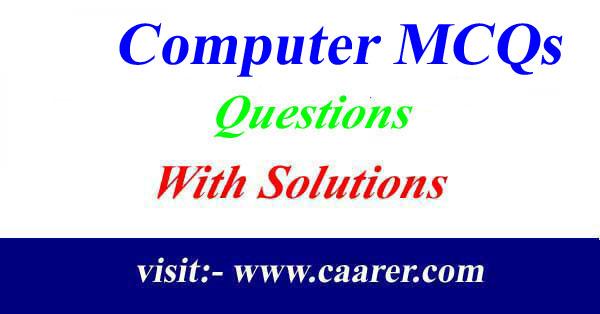 Computer MCQs Part -1