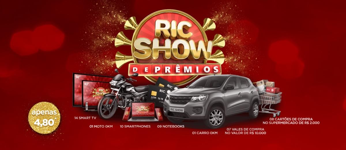 Ric Show de Prêmios RecordTV Promoção 2020 2021 - Assinar, Participar Sorteio Todo Dia
