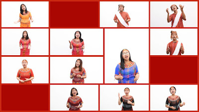 Vocal Group PPGT Jemaat Warakas Ramaikan 'Praise Camp' PPGT KPJ