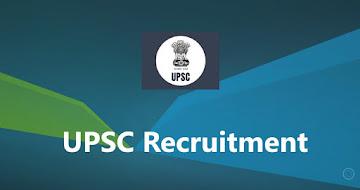 UPSC CMS Examination 2021 – 838 Vacancy, Apply Online
