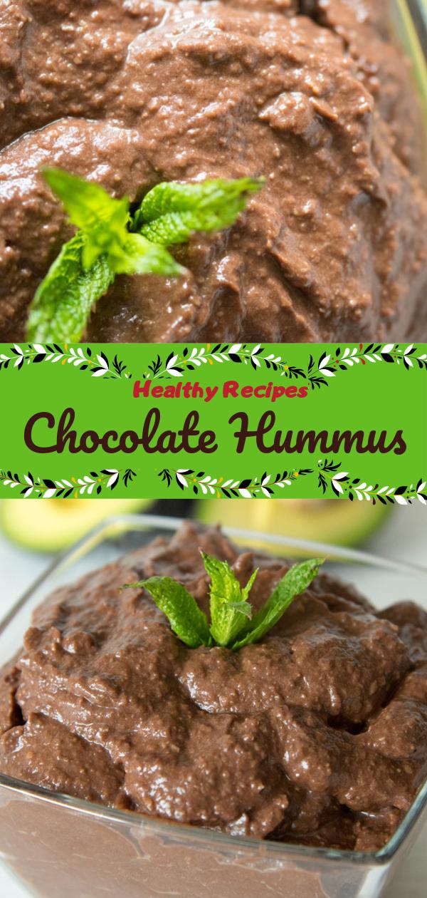 healthy recipes  chocolate hummus  delicious pin it