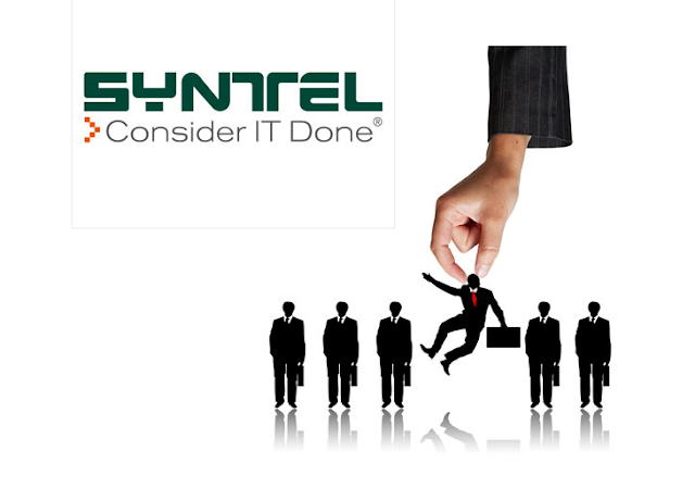 Syntel Walk-In Jobs for Freshers/Experienced