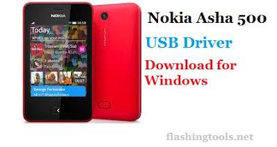 Nokia Asha 500 USB ROM Driver
