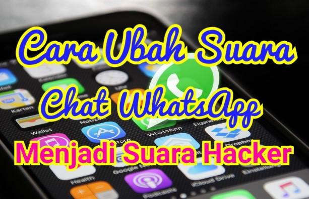 Cara Merubah Voice Chat WhatsApp