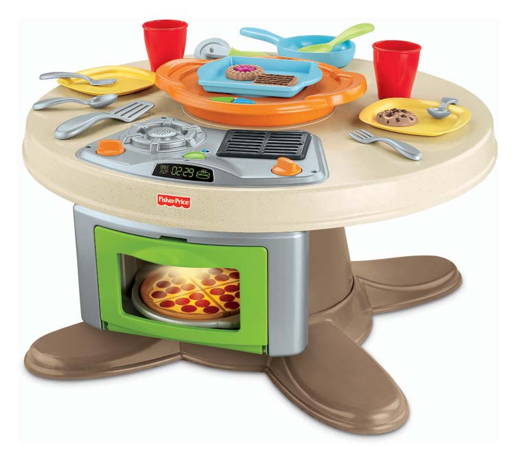 Fisher Price Servin Surprise Kitchen And Table