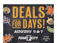 Food City Weekly Sale August 4 - 10, 2021
