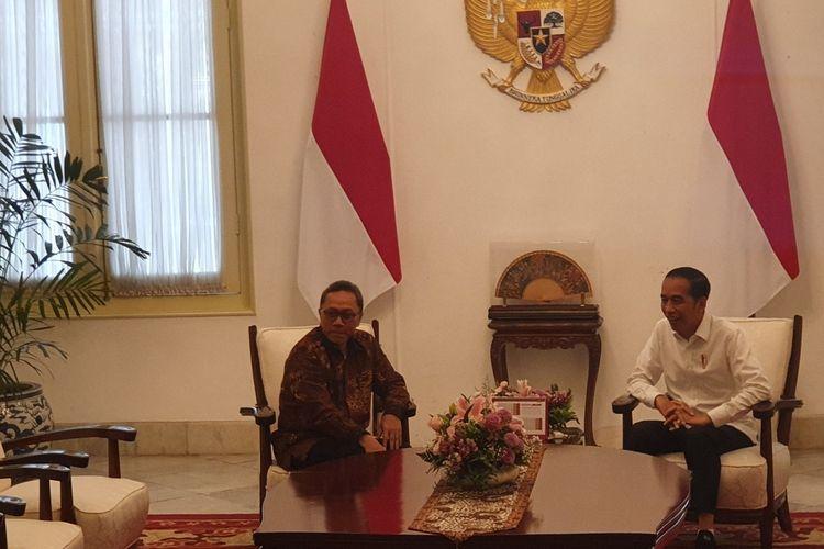 Peluang PAN Masuk Kabinet Dibahas Oleh Jokowi