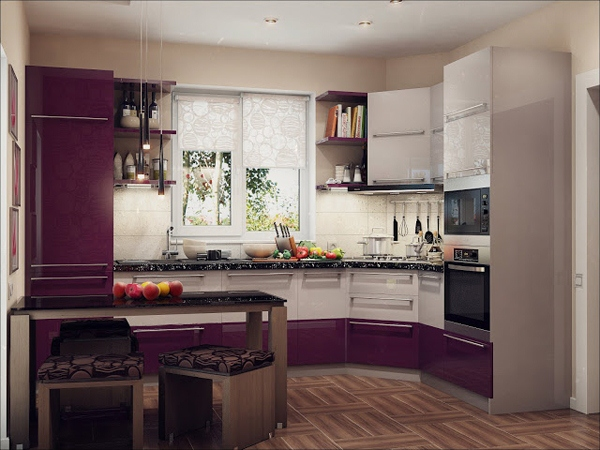 Desain Dapur Mewah dan Berkelas