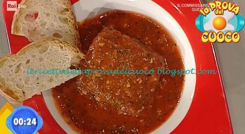 Baccalà alla livornese ricetta Ricchebono da Prova del Cuoco