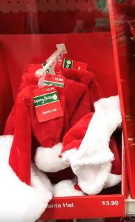 cvs santa hats free
