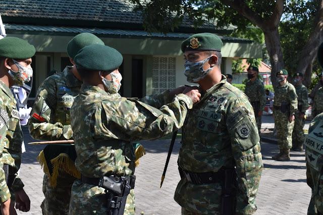 Danbrigif Para Raider 18 Kostrad Pimpin Sertijab Danyonif PR 501 Kostrad di Madiun
