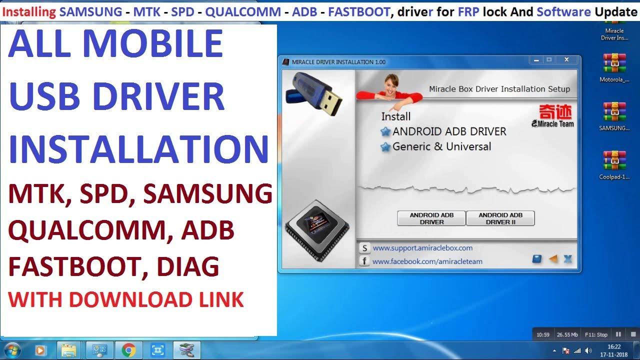 ALL MTK SPD ADB USB DRIVERS Free Download - Learn That U Want