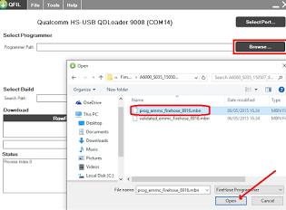 Cara Flash Lenovo A6000 dengan QFIL