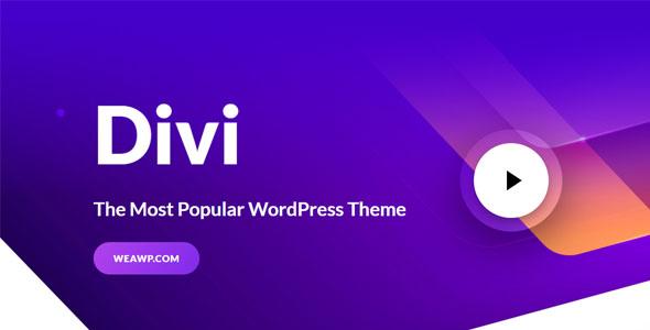 Divi 4.9.5 – Divi WordPress Theme Nulled free Download