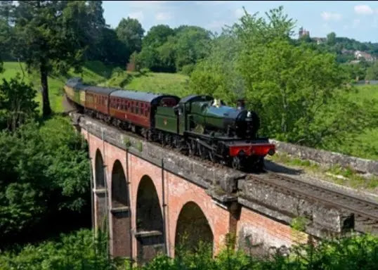 Severn Valley Railway Shropshire (England)