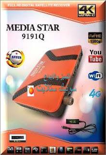 احدث ملف قنوات MEDIA STAR 9191Q