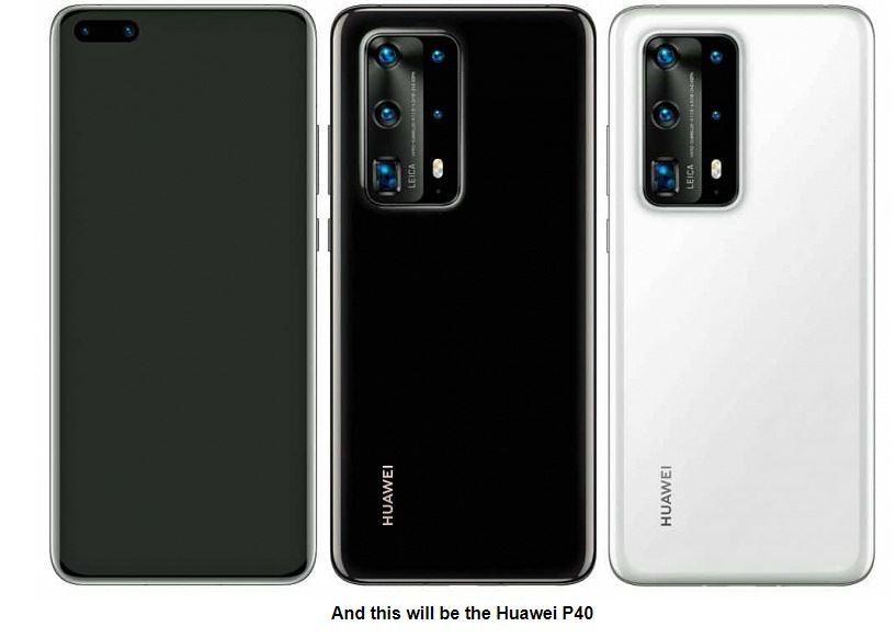 Huawei executives accidentally leaked the appearance of the P40 Pro