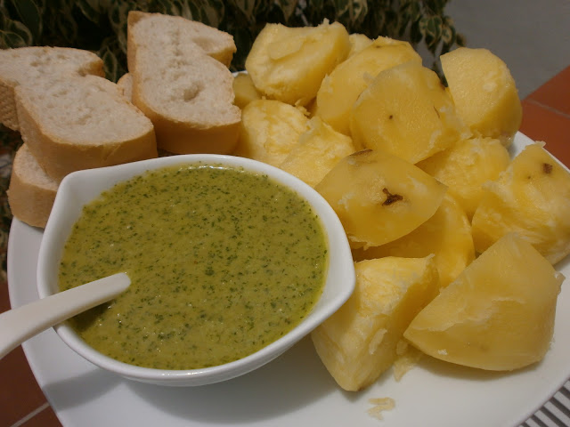 MOJO VERDE ( THERMOMIX)