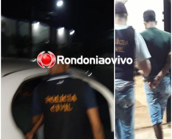 Pai é preso em Porto Velho por estuprar e engravidar a filha de 16 anos