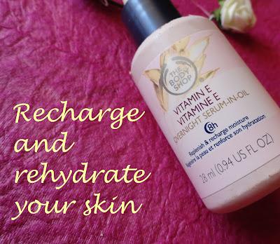 REVIEW: The Body Shop Vitamin E Overnight Serum-in-Oil image