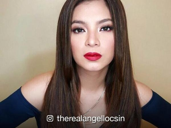 Angel Locsin Blew A Kiss To Her Supporters