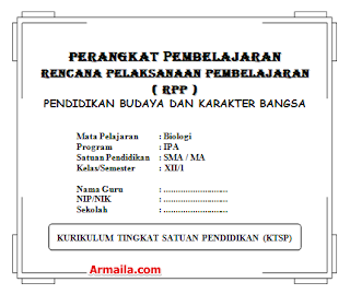 Download RPP KTSP Biologi Kelas XII SMA