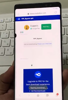 forgotten google account Samsung Note 8 frp bypass