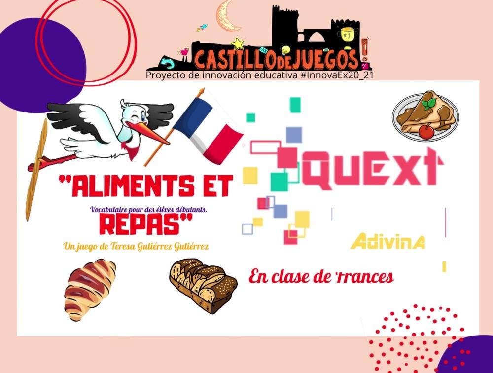 QuExt Adivina para Francés 2ESO