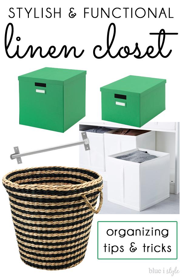 IKEA Linen Closet - get the look