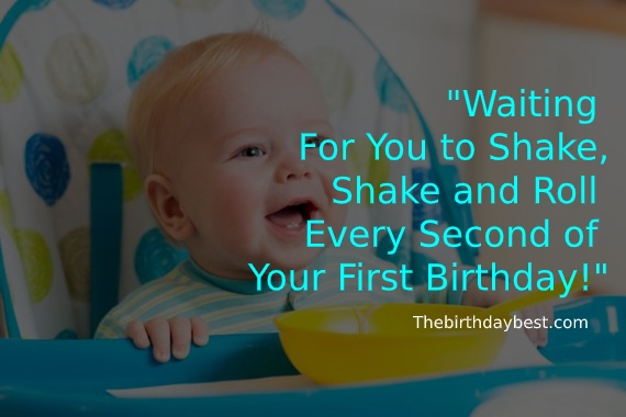 First Birthday Wishes for Daughter