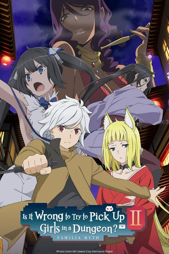 """Is It Wrong to Try to Pick Up Girls in a Dungeon? II"""