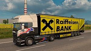 Raiffeisen Bank trailer mod