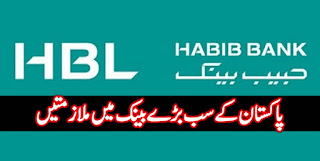 Jobs in HBL Habib Bank Limited June 2018 Apply Online