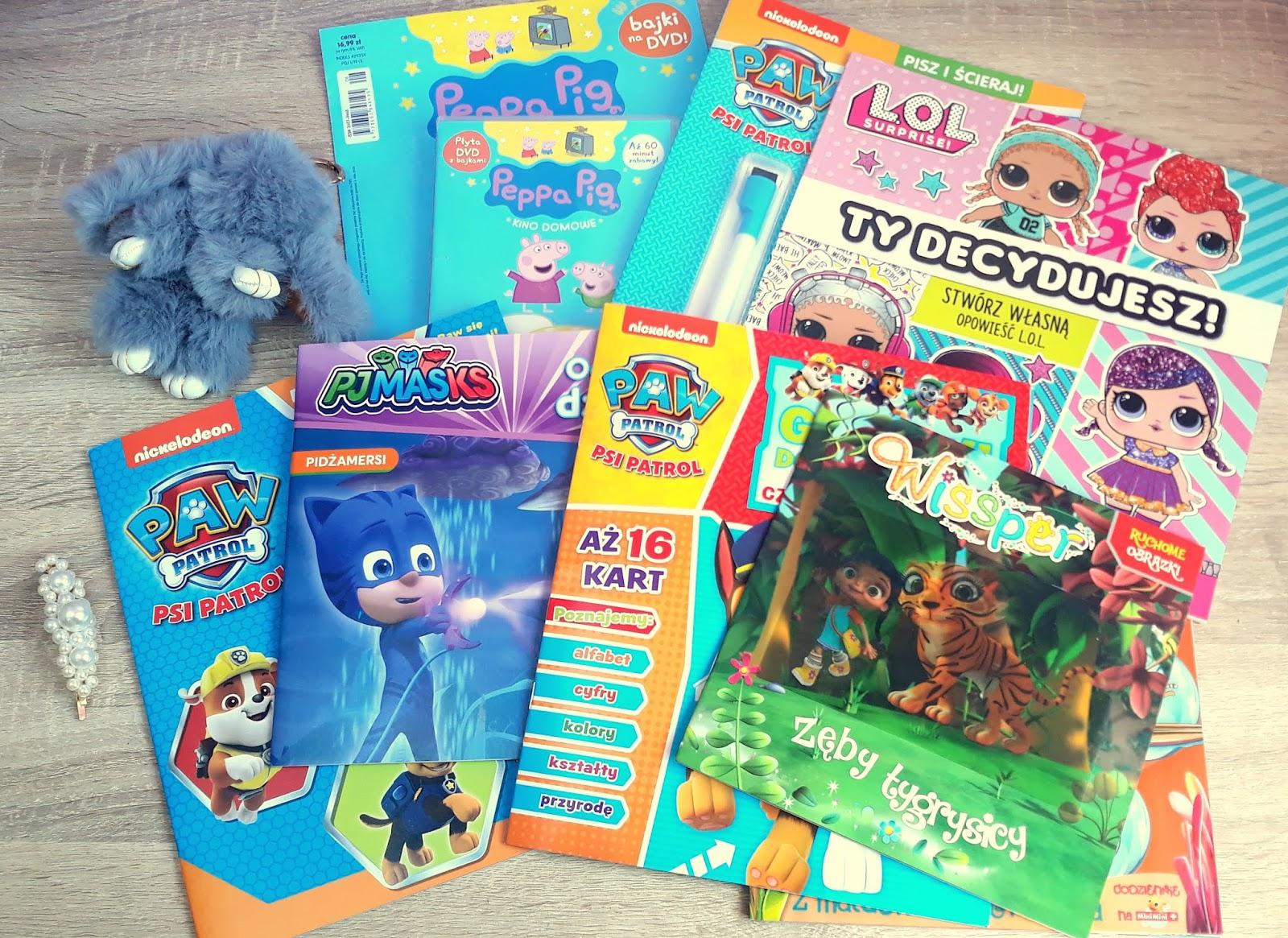 Wakacyjne gazetki dla dzieci