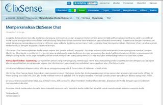 IMG 20170615 110041 Fitur Chat ClixSense memudahkan member untuk saling berkomunikasi