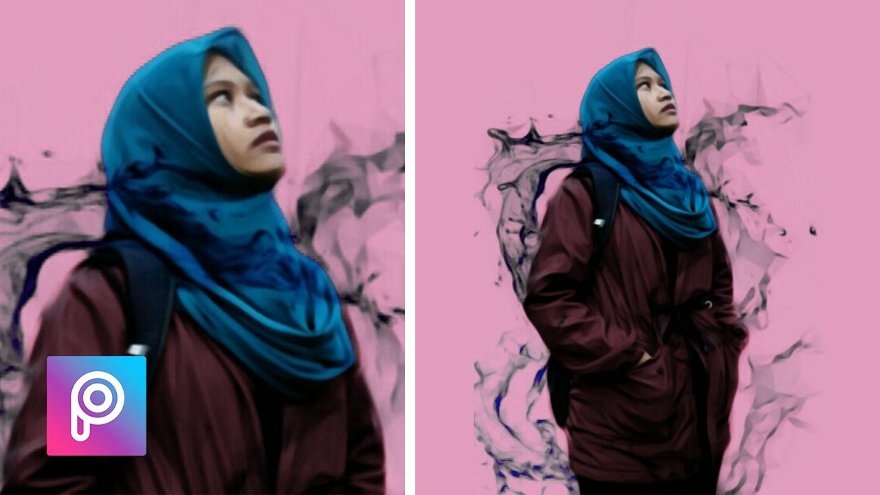 Cara Edit Asap hitam picsart - Edit foto keren, kekinian ...