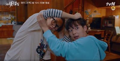 ju kyung dan adiknya sering berantem tapi sayang