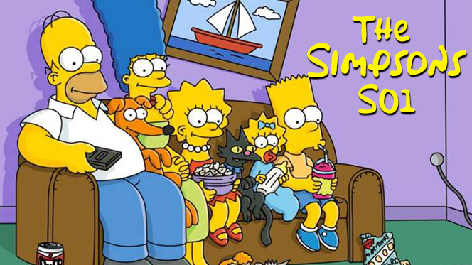Los Simpson (1989) Temporada 1 Web-DL 1080p Latino-Ingles