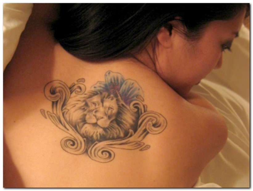 For Me Ns For Girls 8 Lion Tattoos Designs Animal Shapes Black For