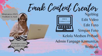 Laptop yang cocok untuk Content Creator