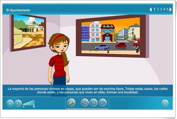 """""""El Ayuntamiento"""" (Organización social de 3º y 4º de Primaria). Plataforma Agrega."""
