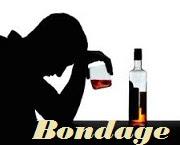 Bondage of alcohol.Image