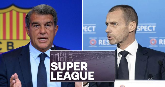 Joan Laporta confirms UEFA can't stop  Super League project