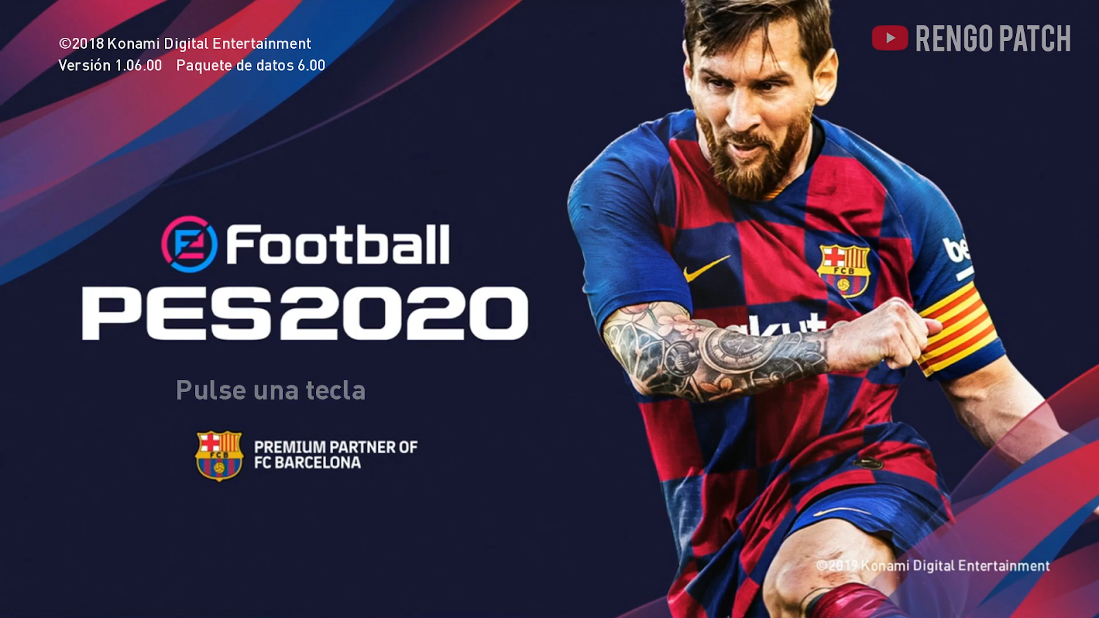 eFootball PES 2020 Graphic Menu Themes for PES 2019