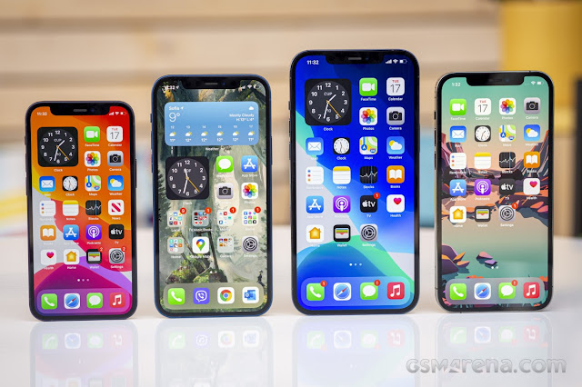iPhone 12 mini, iPhone 12, iPhone 12 Pro Max and iPhone 12 Pro