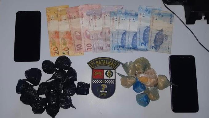 4 homens e uma mulher  são presos por aliciamento de menor e tráfico de drogas em Rosário Oeste
