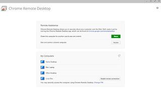 App Google Remote Desktop