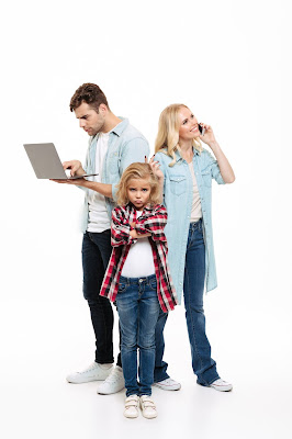 Padres muy ocupados